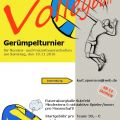 Flyer - Volleyball Gerümpelturnier